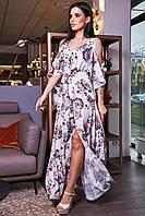 Красивое летнее платье в пол  SV 3457, фото 1