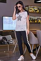 Женские брюки с лампасами  SV 3437, фото 1
