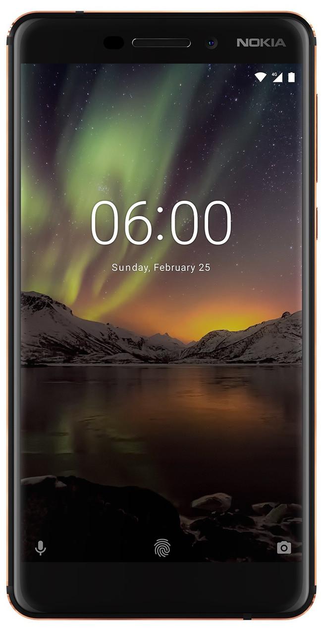 Смартфон Nokia 6.1 4/64GB Black Уценка