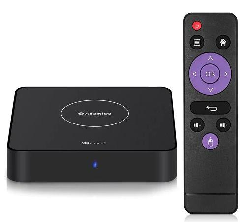 Смарт ТВ приставка Alfawise A8X TV BOX Android 9.0