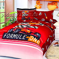 Комплект постели Formula Red, Le Vele Полуторный комплект