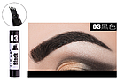 Маркер для бровей Lulaa Fashion EyeBrowink pen 1 ml № 3 (Black), фото 2