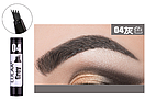 Маркер для бровей Lulaa Fashion EyeBrowink pen 1 ml № 4 (Grey), фото 2