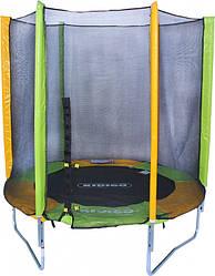 Батут Kidigo механический с защитной сеткой (183 см)