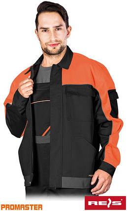 Куртка робоча чоловіча REIS Польща (спецодяг роба уніформа) PRO-J BPS, фото 2