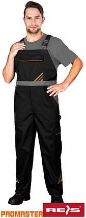 Напівкомбінезон робочий REIS Польща (робочий одяг) PRO-B BPS, фото 2