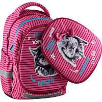 Рюкзак шкільний Kite Education 723-1 Fluffy animals K19-723M-1, фото 1