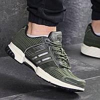 Кроссовки мужские летние Adidas 7788 темно зеленые, фото 1