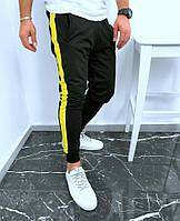 Мужские брюки с лампасами | Чоловічі брюки з лампасами (Черный)