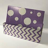 Коробка для обуви Босоножек женский с печатью 300х130х95 мм