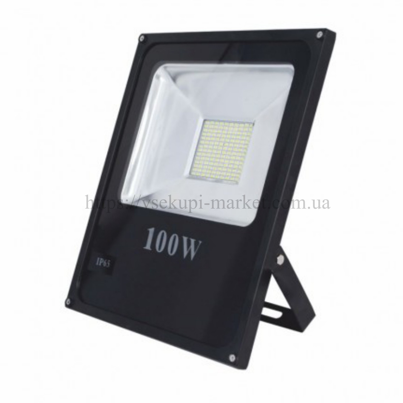 Прожектор RIGHT HAUSEN STANDARD LED 100W 6500K IP65 черный HN-191252