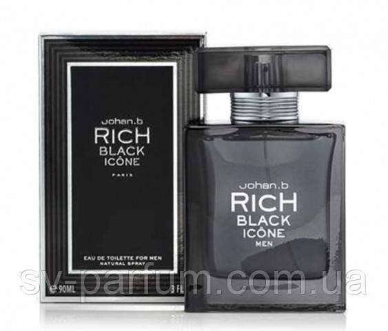 Туалетная вода мужская Rich Black Icon 90ml