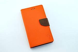 """Чехол-книжка 4you Fancy 4,9""""-5,3"""" orange/brown универсальная ТОП Продаж!, фото 2"""