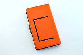 """Чехол-книжка 4you Fancy 4""""-4,4"""" crimson/dark blue универсальная , фото 2"""