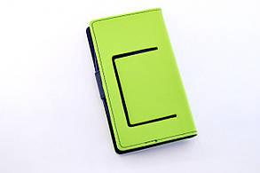 """Чехол-книжка 4you Fancy 5,3""""-5,7"""" blue/dark blue универсальная, фото 2"""