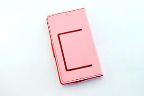 """Чехол-книжка 4you Fancy 4""""-4,4"""" pink/crimson универсальная , фото 2"""