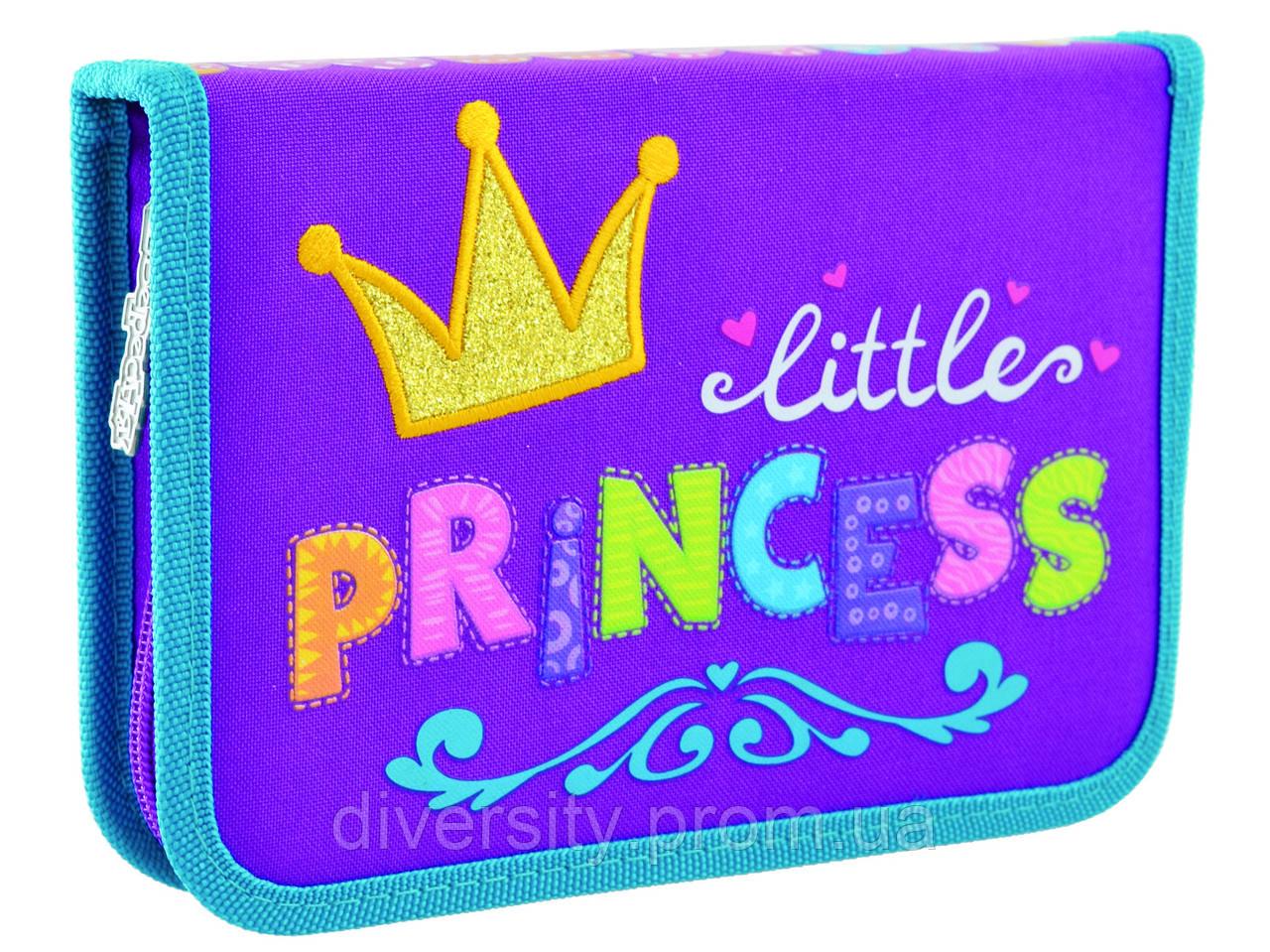 """Пенал твердый одинарный без клапана HP-02 """"Little Princess"""" ,серия Classic 532143"""