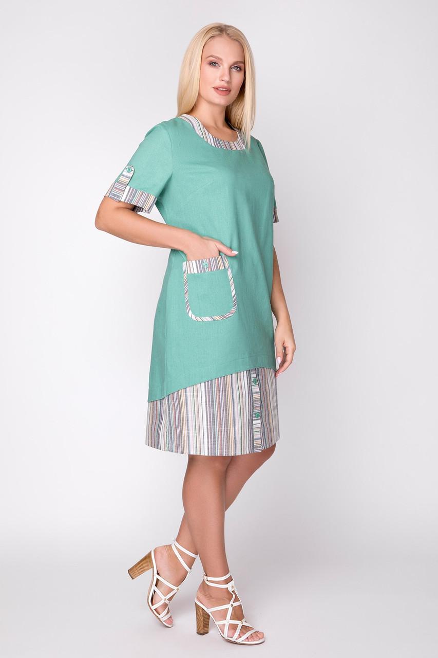 Платье из льна с 52 по 60 размер