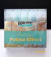 Набор материалов для создания эффекта патинирования 5 * 20 мл, Pentart