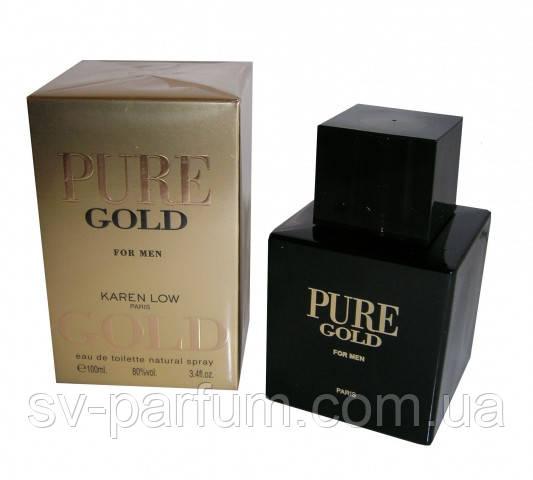 Туалетная вода мужская Pure Gold 100ml