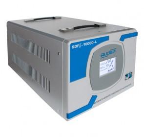 Сервоприводный стабилизатор напряжения для квартиры SDFII-10000-L 8кВт.