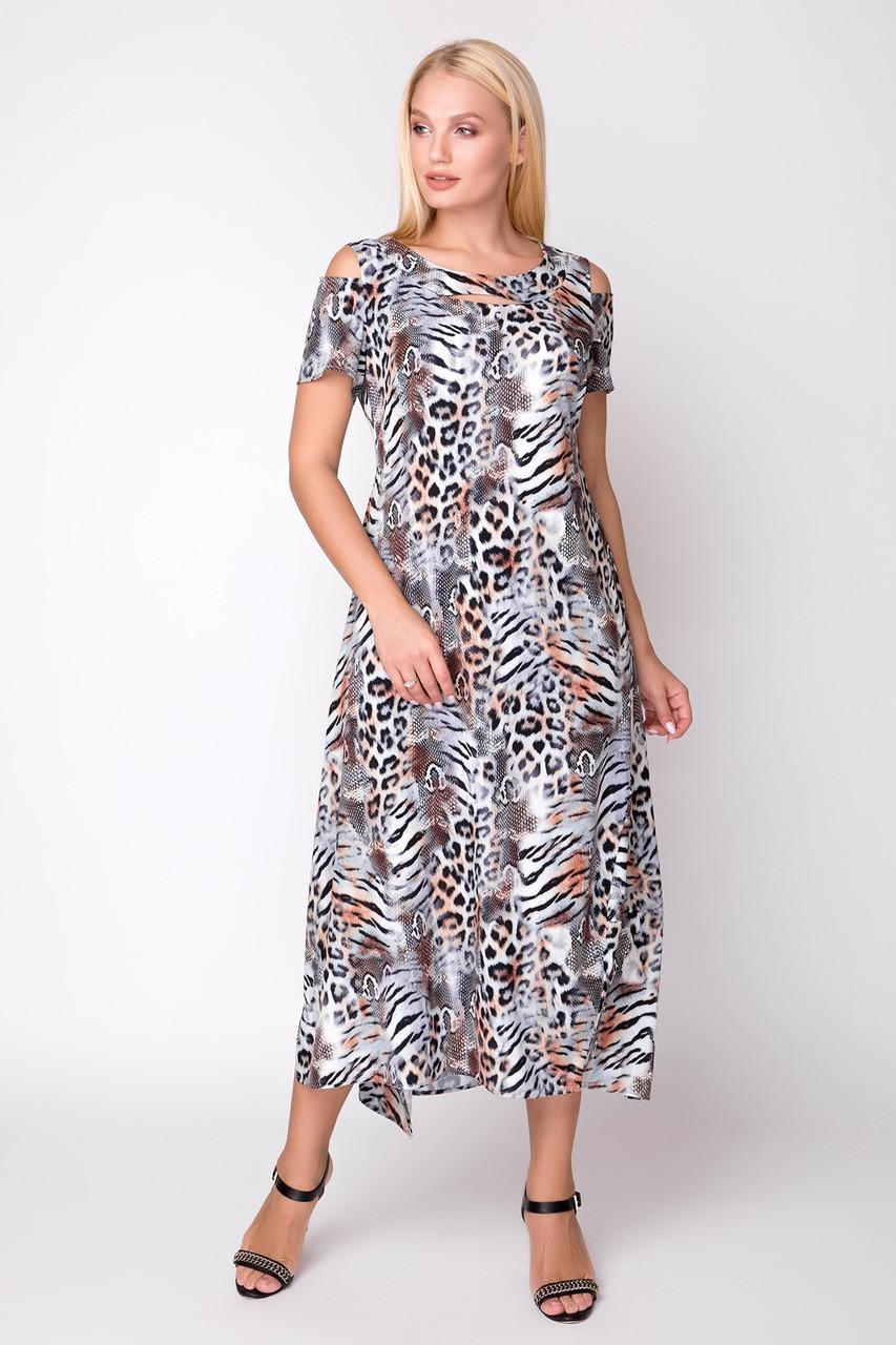 Летнее платье 50 по 56 размер