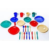 Набор посуды пластиковой на 4 персоны Tramp TRC-053
