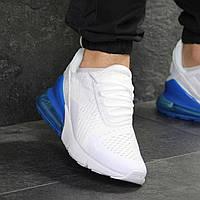 Демисезонные кроссовки мужские Nike 7810 белые с синим, фото 1