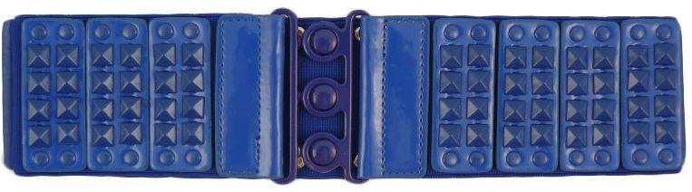 Ремень женский C301213, синий, 68х7,5 см