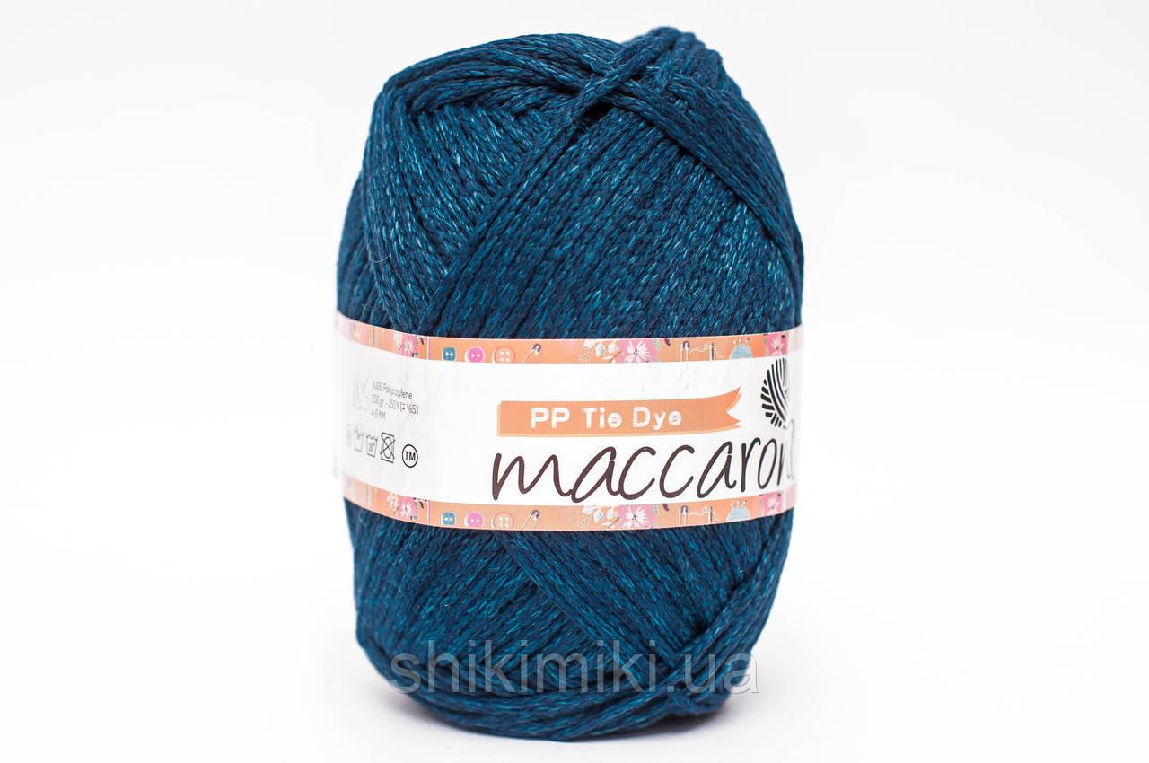 Трикотажный шнур PP Tie Dye, цвет Морская волна