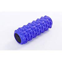 Роллер для занятий йогой и пилатесом Grid Bubble Roller