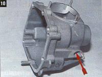 Крышка КПП ВАЗ 2101 задняя 4-х ступ.