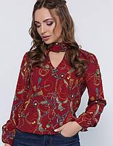Женская блузка с чокером (1824 mrs), фото 2