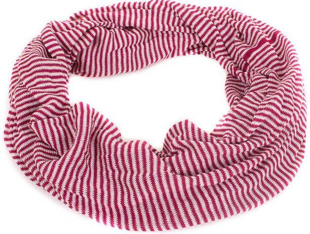 Женский акриловый шарф-хомут ETERNO ES0107-8-red, 135х50 см,
