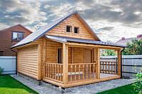 Строительство деревяных домов, каркасные дома.с