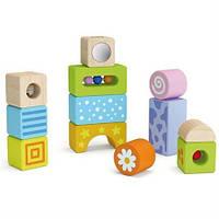 """Набор строительных блоков """"Погремушки"""" со звуком, для самых маленьких, 1+, фото 1"""