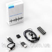 Диктофон Savetek міні-USB на кліпсі, 8 Гб, цифровий диктофон MP3 плеєр