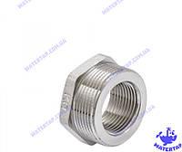 Переходник (футорка) латунный никелированный 1х1 1/2 наружная внутренняя KOER
