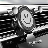 Автомобильный держатель смартфона Fulcol Gravity Car Phone Holder Gray