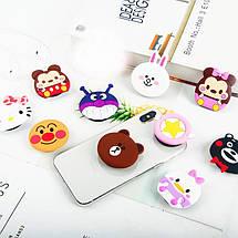 Попсокет PopSocket 3D ZucZug держатель для телефона (Серия мультяшных зверюшек), фото 3