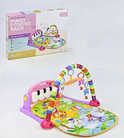 Развивающий коврик с пианино Huanger HE0604