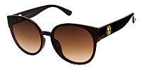 Брендовые коричневые очки солнечные 2019 Fendi