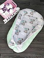 Кокон ( гнездышко, позиционер) Минки   для новорожденных!