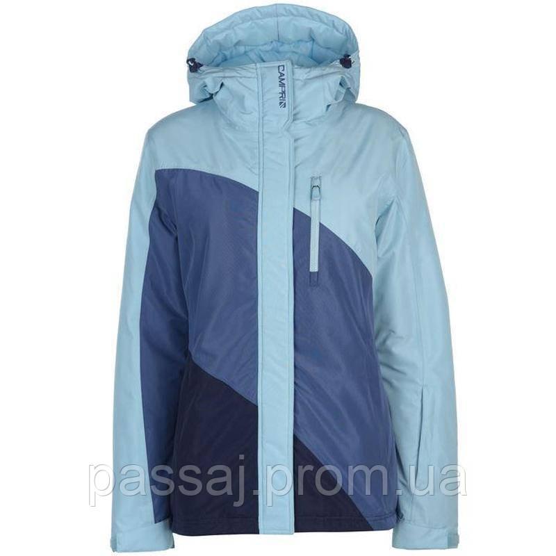 Оригинальная голубая лыжная зимняя куртка! mega sale!