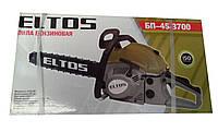 Бензопила ELTOS БП-45-3700 (2 шины, 2 цепи)