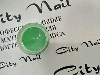 Пігмент для нігтів зелений