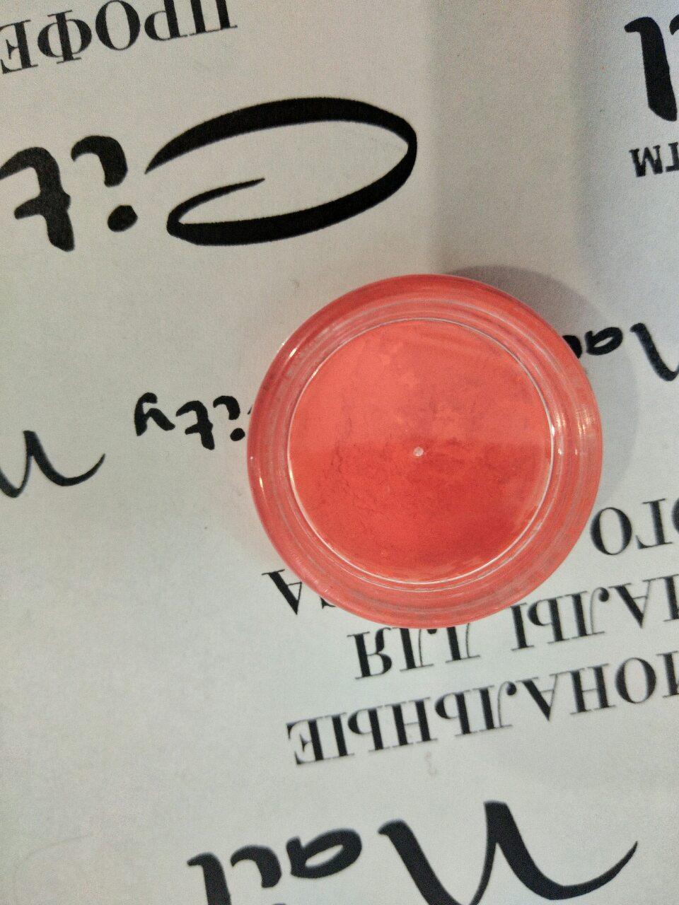 Пигмент для ногтей красный