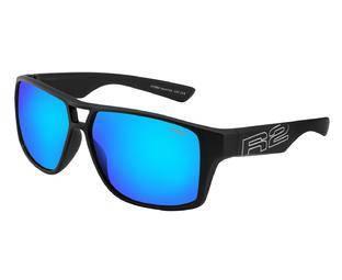 Окуляри R2 Master AT086F чорний з лінзами Ice Blue Revo, фото 2