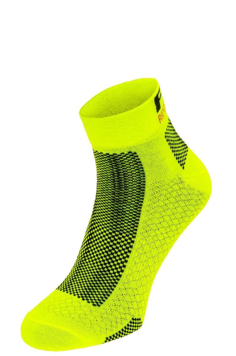 Шкарпетки R2 Easy неоновий жовтий S (35-38)