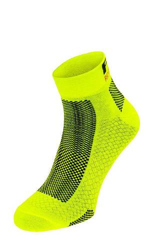 Шкарпетки R2 Easy неоновий жовтий S (35-38), фото 2
